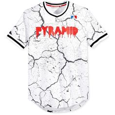 Black Pyramid Men's Graphic-Print Jersey ($78) ❤ liked on Polyvore featuring men's fashion, men's clothing, mens jerseys, mens clothing and men's apparel