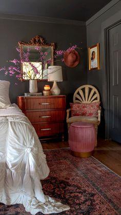Home Decor Bedroom, Master Bedroom, Moroccan Bedroom Decor, Bohemian Bedroom Decor, Teen Bedroom, Aesthetic Room Decor, Dream Home Design, Interior Exterior, My New Room