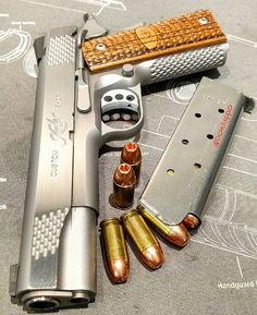 Kimber Custom Shop Raptor ll 1911 .45 Find our speedloader now!  http://www.amazon.com/shops/raeind