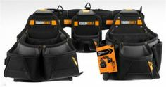 Tough Built Tool Belt Storage Sheds For Sale, Garage Storage Systems, Outdoor Storage Sheds, Shed Storage, Tool Belt, Work Tools, Cool Things To Buy, Stuff To Buy, Guns