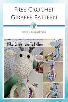Well, hello there!  Do you guys remember the free crochet giraffe pattern that I uploaded last year? It was this cute little toy that I had made for my cousin and her baby, but because it was the first pattern I came up with and I wasn't keeping track of what I did that well, people …