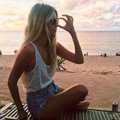 WEBSTA @ the_salty_blonde - Dreaming of sunset hangs and being healthy Hal again as I take my 3rd nap of the day.