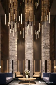 When it comes to getting a hotel ready to greet its guests, a lobby design is a tell-all. The entrance to a brand new world of luxury, these luxurious hotel lobby designs are a must see to leave you w Hotel Lobby Design, Modern Hotel Lobby, Design Entrée, Door Design, Design Ideas, Bath Design, Layout Design, Design Inspiration, Bedroom Inspiration