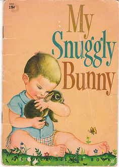 The Snuggly Bunny ELOISE WILKIN A Little Silver Book Vintage Hard to Find | eBay