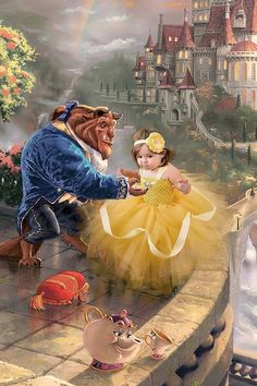 Disney Princess / Baby Halloween Costume /DRESS ONLY/ Toddler Halloween Costume / Belle Costume / Belle Dress / Belle Dress/ Princess Belle/ Princess Belle Dress, Disney Princess Babies, Princess Movies, Disney Princess Birthday, Disney Princess Dresses, Belle Tutu, Belle Halloween Costumes, Halloween Bebes, Belle Costume
