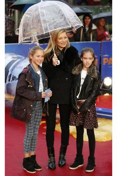 Lila Grace Moss makes her red carpet debut with mom, Kate Moss.