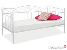 Znalezione obrazy dla zapytania łóżko metalowe białe