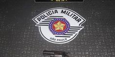 POLÍCIA MILITAR DE TAUBATÉ PRENDE CRIMINOSO COM ARMA DE FOGO