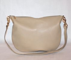Vintage GUCCI Hobo Tan Leather Large Convertible by StatedStyle, $495.00