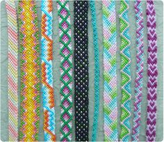 -Friendship Bracelet Patterns