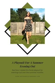 Summer Evening, Outfit Posts, Playsuit, Style Inspiration, Female, Fashion, D Day, Overalls, Moda