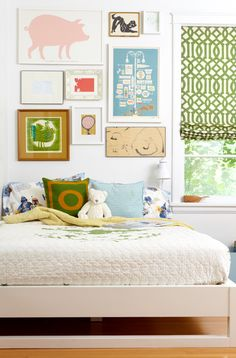 Bed With No Headboard, Contemporary, boy's room, Pencil and Paper