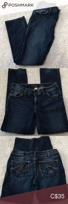 Shop Women's Silver Jeans Blue size 32 Straight Leg at a discounted price at Poshmark. Only worn a few times and in great condition. Silver Jeans, Stretch Jeans, Slim, Legs, Times, Best Deals, Pants, Closet, Things To Sell