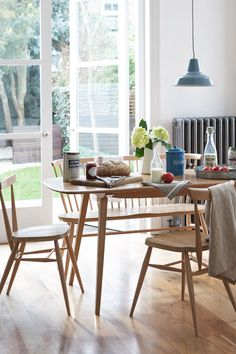 We love Ercol furniture simply because of its timeless character. Below are some of our favourite vintage Ercol finds! Ercol Furniture, Home Decor Furniture, Furniture Ideas, Simple Interior, Home Interior, Ercol Dining Table, Dining Set, Dining Room Design, Kitchen Design