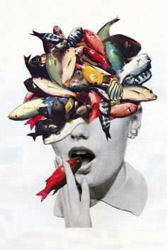 Mind Alteration - Eugenia's Collages - Omega-3