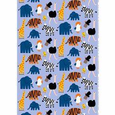 Marimekko Iso Tiikoni Blue Fabric What do you call a cross between a tiger and a lion? A Tigon (Iso Tiikoni in Finnish), the name of this new Marimekko pattern designed by Aino-Maija Metsola. Blue Fabric, Cotton Fabric, Marimekko Fabric, Kids Prints, Modern Fabric, Zebras, Orange Yellow, Printing On Fabric, Pattern Design