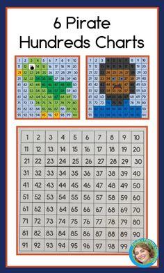 First Grade Math Worksheets, First Grade Activities, Kindergarten Worksheets, Math Activities, 100 Chart, Hundreds Chart, Teaching Kindergarten, Preschool Learning, Teaching Geography