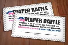 BEAU+or+BOW+RAFFLE+Printable+Ticket+by+PrintasticDesign+on+Etsy,+$5.00