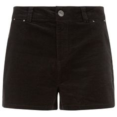 Black High Waisted Shorts ($14) ❤ liked on Polyvore featuring shorts, bottoms, pants, short, zipper shorts, slim fit shorts, highwaist shorts, summer shorts and high-rise shorts