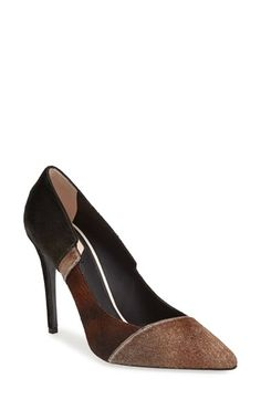 Fendi 'Diana' Calf Hair Pump (Women) at Nordstrom.com. Lush calf hair in a stunning patchwork pattern heightens the scene-stealing glamour of a lithe pointy-toe pump.