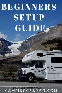 Tips To Help Your first time camping with a travel trailer Or Rv. And A how-to guide, step by step procedures. For First-time travel trailer setting up at a trailer, Rv park Camping Needs, Rv Camping, Camping Hacks, Camping Checklist, Camping Essentials, Towing Vehicle, First Time Camping, Caravan Holiday, Keystone Rv