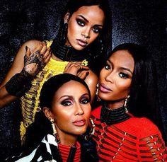 Iman, Naomi, RiRi...'nuff said.
