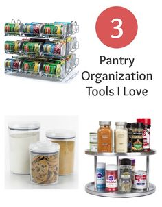 Three Pantry Organiz