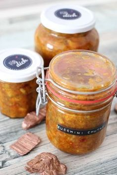 Zucchini-Chutney (Courgette-Chuntey)