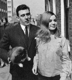 Reggie Kray and Frances Shea, 1st April 1965, wasn't Frances beautiful?