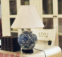 Find More Table Lamps Information about Vintage blue and white hand painting ceramic chinese style fashion ofhead lamps,High Quality Table Lamps from Cherry,Chrish  on Aliexpress.com
