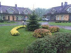 Идеи ландшафтного дизайна около дома в КП Иванова Фазенда