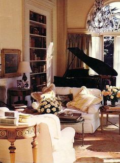 Elegant and inviting living room