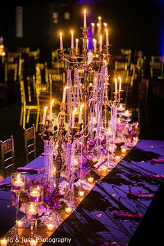 Indian wedding classy table centerpieces. https://www.maharaniweddings.com/gallery/photo/142563