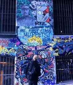 Sharing a wall on Hosier Lane with @mayzeone in Melbourne, Australia --------------------------------------------------------------------------- #tenet #melbournestreetart #history #pasteup #gluemaster #hosierlane #streetart #mayze #ferdinandfoch #melbournelaneways #graffiti #quote #melbournegraffiti  #wheatpaste #posterart