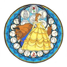 bell drawing beauty and the beast / bell drawing beauty and the beast . bell drawing beauty and the beast easy . bell from beauty and the beast drawing . beauty and the beast bell jar drawing Art Disney, Disney Kunst, Disney Films, Disney And Dreamworks, Disney Love, Disney Stained Glass, Stained Glass Christmas, Stained Glass Art, Lilo Et Stitch