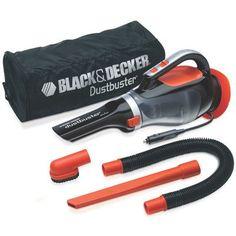 Black & Decker 5 Piece 12V Automotive Dust Buster Vacuum Set