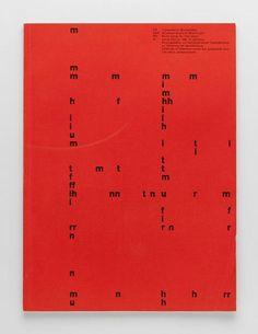 TM Typographische Monatsblätter, issue 1, 1958