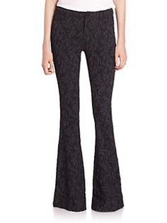 Alice and Olivia - Jacquard Bell Pants