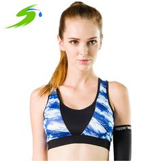 Women GYM Yoga Shirts Push Up Crop Top Breathable Fitness Running Sports Seamless Bra Sujetador Deportivo Sd028 >>> Click image for more details.