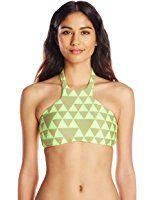 Seafolly Women's Costa Maya High Neck Bikini Top