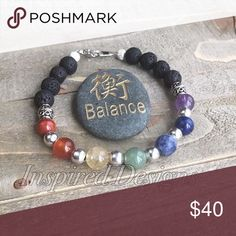 Handmade 7 chakra diffuser bracelet Chakra balancing takes constant work, as there are numerous ways that can draw them out of balance if you do not pay enough attention. If our chakras are out of balance, our mind and body will also be out of balance.  There are many ways to help your chakras achieve balance such as Reiki healing chakras, color therapy, aromatherapy and balancing with the help of crystals or gemstones. handmade Jewelry Bracelets