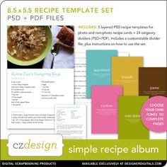 Do I have time to make a recipe album like this? What a neat heritage it would be....