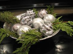 Front Entrance/Foyer Christmas Decor - contemporary - entry - toronto - The Expert Touch Interiors