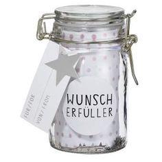 """Geschenkglas """"Wunscherfüller"""""""