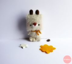 Koji <3 amigurumi mohair anekka handmade