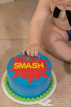One Year Cake Smash - Ft. Myers Child Photographer - Jessica Anders Photography
