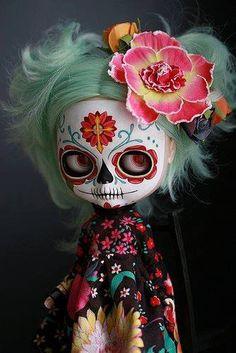 sugar skull dolly cute!