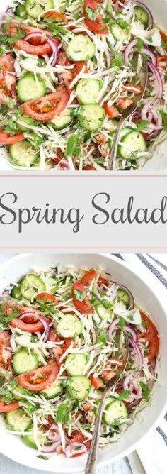 Spring Salad Recipe (VIDEO)