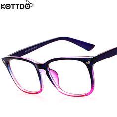 Kottdo 2016 패션 새로운 독서 안경 남성 여성 브랜드 디자이너 안경 안경 프레임 광학 컴퓨터 안경 oculos