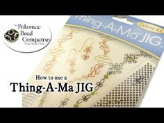 How to Use Thing-A-Ma JIG for Wire Working - YouTube free tutorial from The Potomac Bead Company. Potomac bead company has hundreds of tutorials on YouTube and tens of thousands of products (gemstones, crystals, glass, seed beads, pendants, silver, findings, tools & more) in retail bead stores and on TheBeadCo.com! www.potomacbeads.com www.thebeadco.com